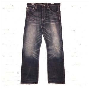 AE Straight Relaxed Denim Jeans